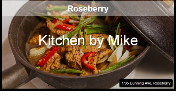 Roseberry - Kitchen by Mike is a canteen serving up a simple and fresh menu which changes daily according to the best available produce.  This is good food. http://www.pinterest.com/WhoLoves/Top-Ten-Lists #Sydney #Cafe #Top10 #TopTen