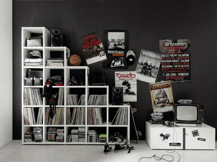 Teens Bedroom, Marvelous Cool Room Designs For Guys Inspirations: Black And White Teen Bedroom Furniture