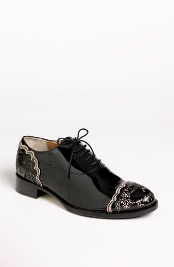 These are absolutely stunning! Valentino 'Lace Art' Oxford | Nordstrom