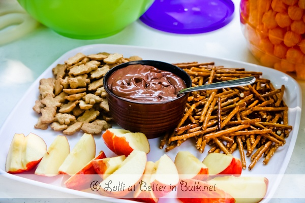 Ovaltine Dip for snacks and treats