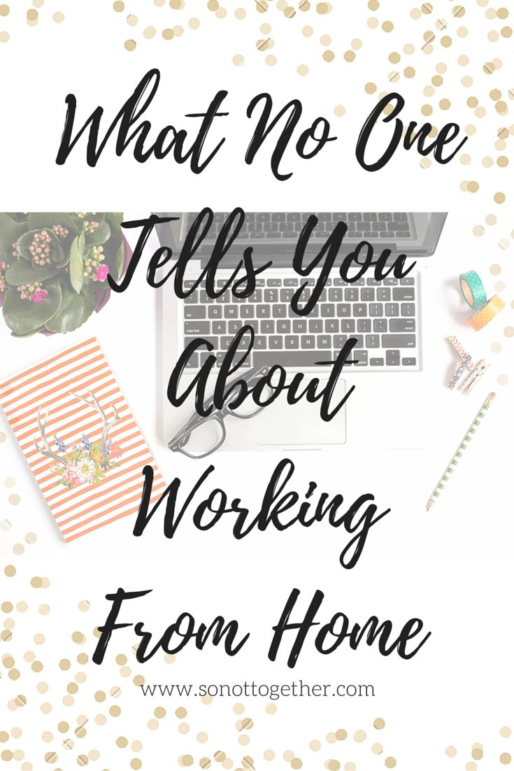 I learned these 5 things after starting to work from home.