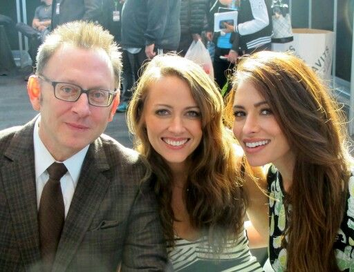 Michael Emerson,Amy Acker and Sarah Shahi (Person of Interest)
