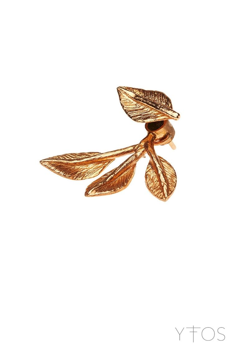 'Poem' Pink Gold Plated Earring