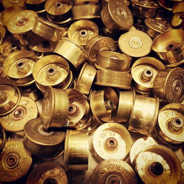 shotgun shell ... ideas...  Copper, Glass and Recycled Trash                                                                                                                                                                                 More