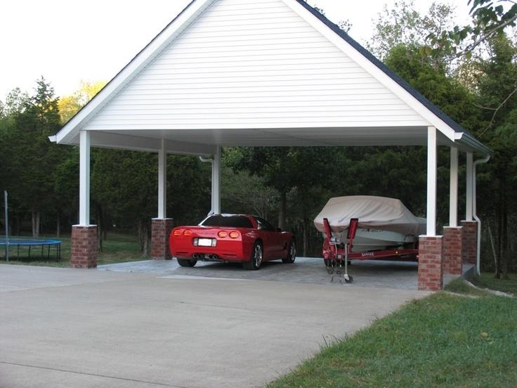 Nashville Custom Carports vs. Detached Garages (With