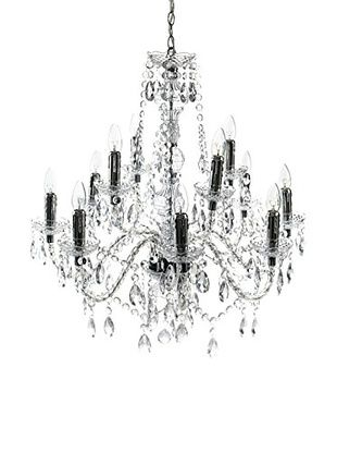 Contemporary Living Lampadario Jewel Trasparente diametro 80 x H.79 cm