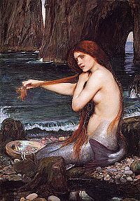 """Thalassa {primordial sea goddess/personification of the Mediterranian Sea} """"sea""""; mother of the Telchines and Halia by Pontus"""