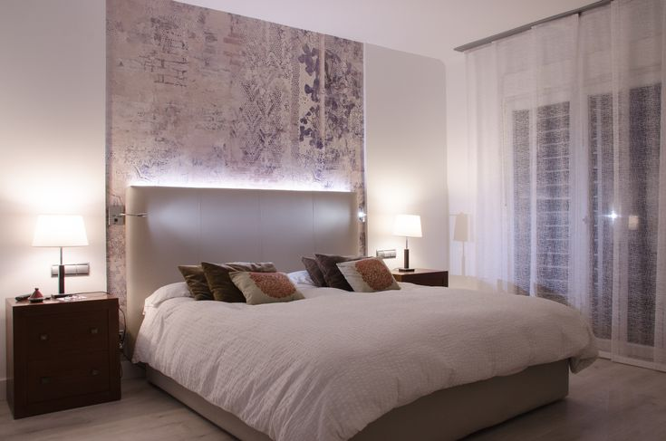 Dise o de dormitorio principal en nuestro proyecto de dise o y reforma vivienda unifamiliar en - Dormitorios juveniles almeria ...