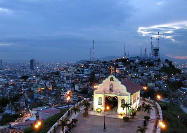 "Las Peñas is a lighthouse in Guayaquil near the Museo de la Música Popular Guayaquileña ""Julio Jaramillo""."