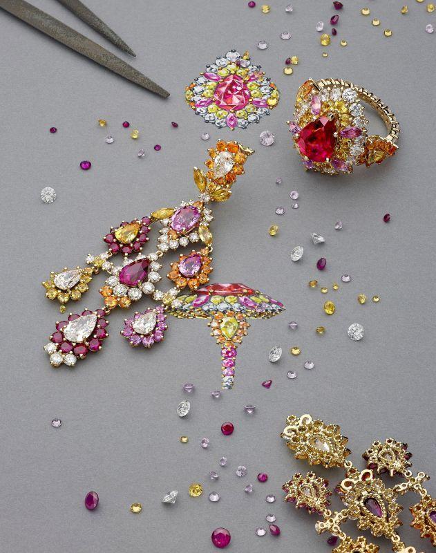 Victoire de Castellane for Dior Joaillerie - Laziz Hamani • Florence Moll & Associée