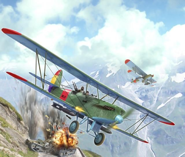 Polikarpov R-5 in the SCW