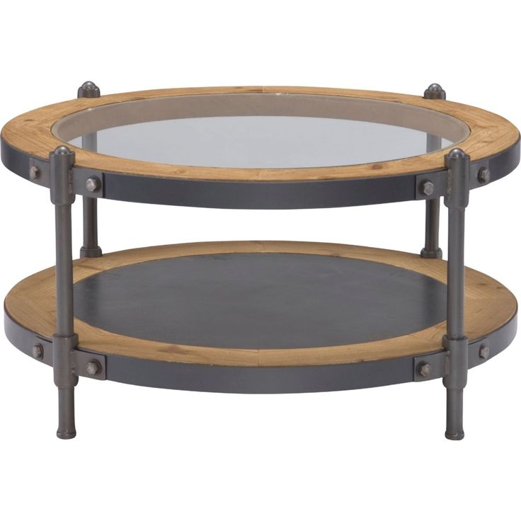 Table Round Industrial Coffee Table Gratifying Ballard: 25+ Best Round Coffee Tables Ideas On Pinterest