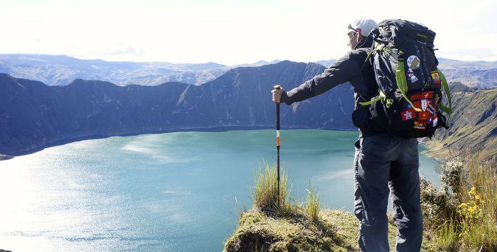 """Boucle du Quilotoa - Equateur """"Probablement l'un de nos plus beaux treks jamais fait! 5 jours hors du commun dans des paysages surnaturels: volcan, canyon, et altitude on a tout fait!"""" Novo-Monde"""
