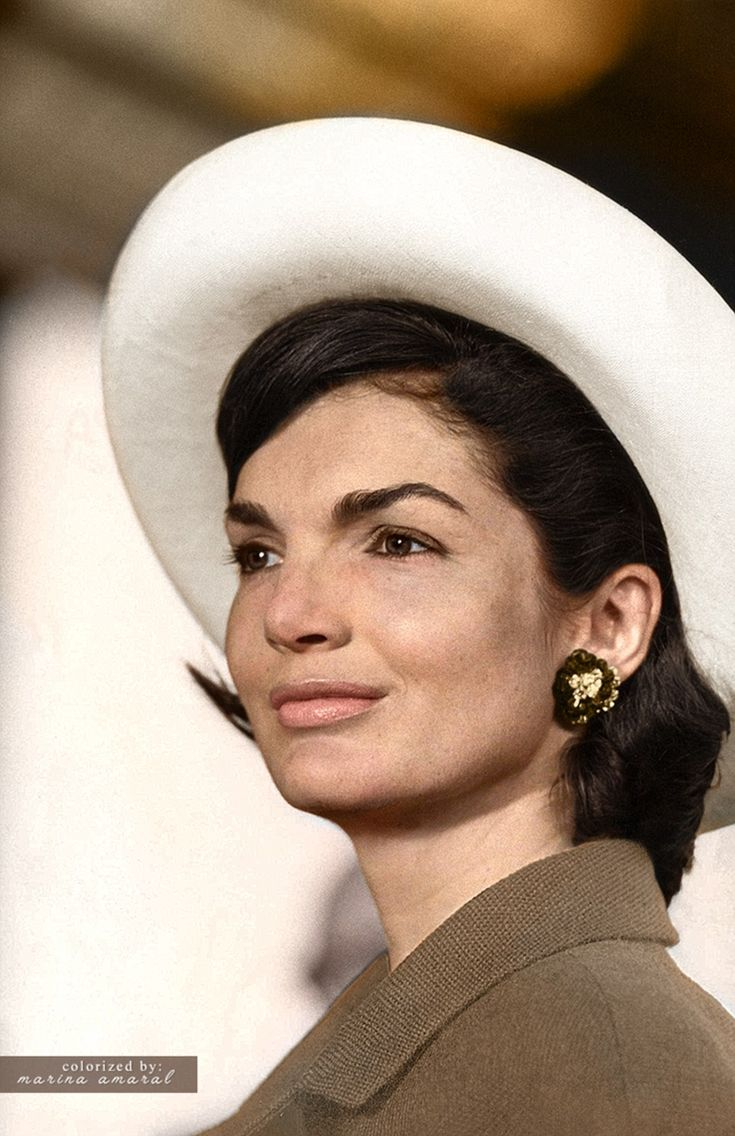 Elegant: Jacqueline Lee 'Jackie' Kennedy was the wife of the 35th President of the United States, John F. Kennedy, and First Lady of the United States during his presidency from 1961 until his assassination in 1963