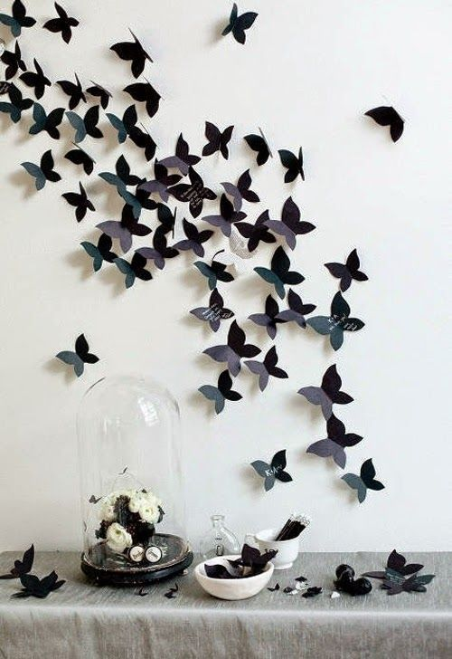 Michelle - Blog #Origami Fonte : http://www.topinspired.com/top-10-wonderful-diy-decorations-inspired-by-spring/