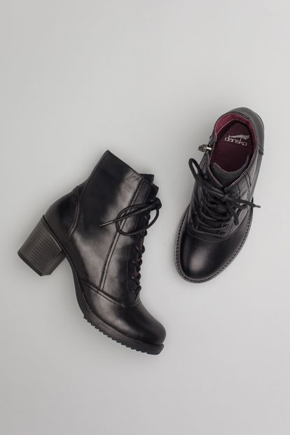 The Dansko Black Antiqued Calf from the Ames collection.
