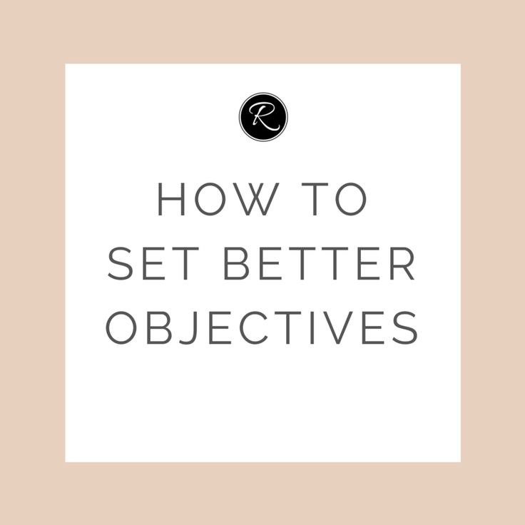Setting objectives should be the first step in any business strategy, as  without them, how can you measure success?    The key to setting good, useful objectives is to make sure they are SMART  (Specific, Measurable, Agreed/Achievable, Realistic and Time-bound).  Without these elements, yo