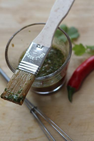 marinade met CHILI / KORIANDER / LIMOEN