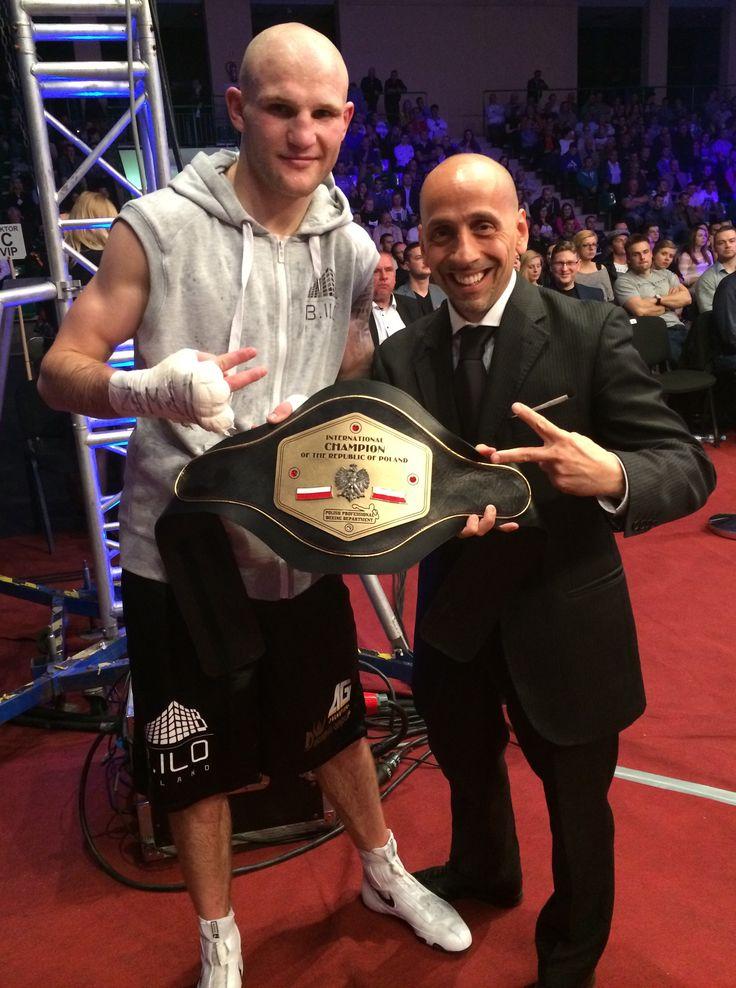 10.05.2014 - Maciej Sulęcki w Brodnicy pokonał Nicolasa Diona zdobywając tym samym tytuł Międzynarodowego Mistrza Polski.