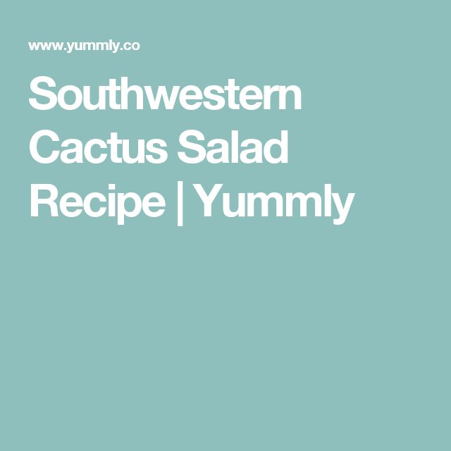 about Cactus Salad on Pinterest | Cactus grill, Watermelon feta salad ...