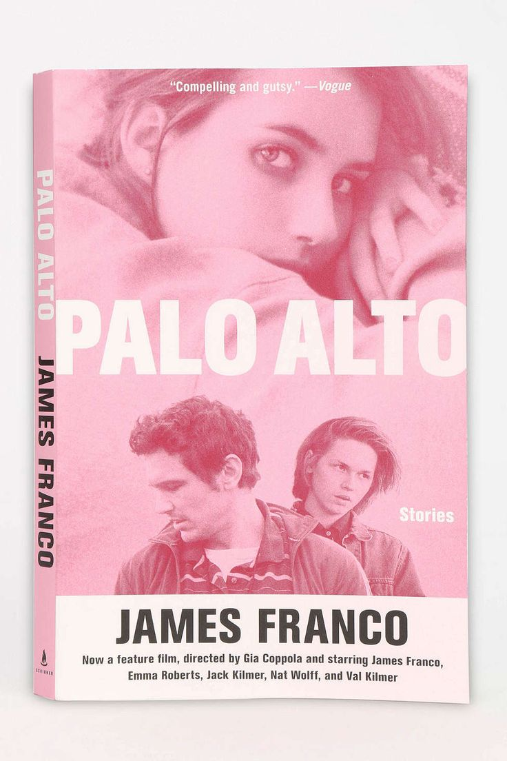 Palo Alto: Stories By James Franco (I found these books on Urban but you obviously could probably get them at target)
