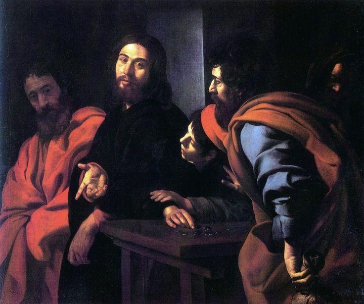 Giovanni Battista Caracciolo, detto il Battistello - Vocazione di San Matteo - 1620-1630