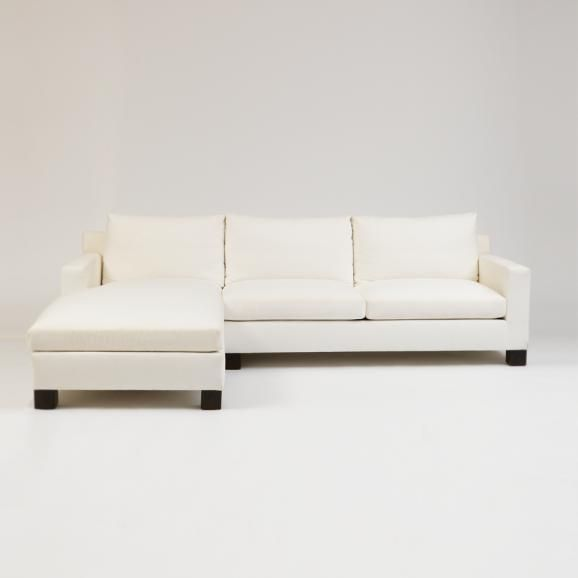 Claremont High Back Chaise | Shop: Custom Furniture | Sarah Richardson  Design