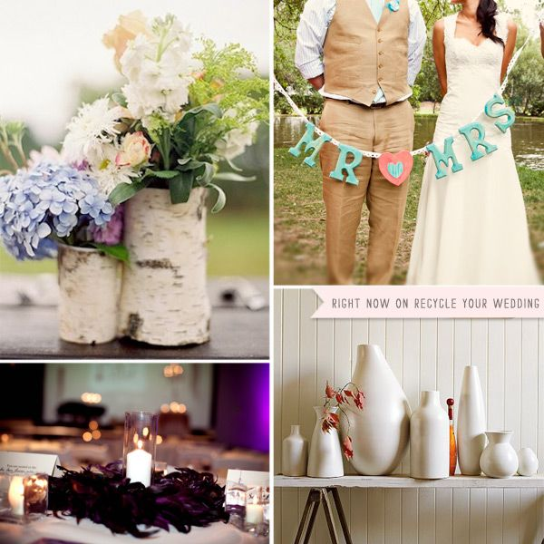 Used Rustic Wedding Decorations For Sale