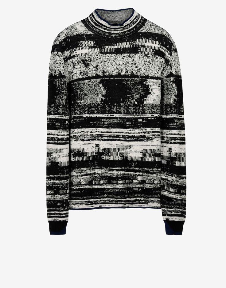 501A3 MOCK NECK SWEATER _ WO/PL/PA High Neck Sweater Stone Island Shadow Men -Stone Island Online Store
