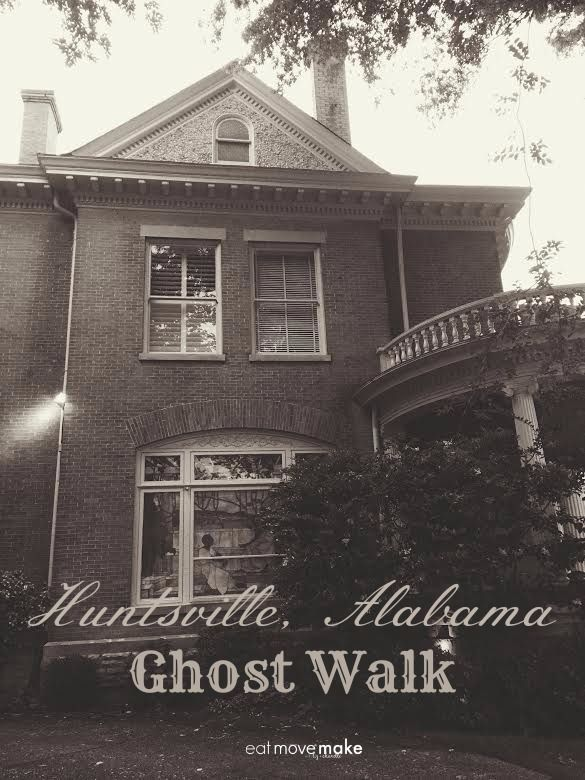 Huntsville Alabama USA Ghost Walk + Ghost Tour Tips. The historical tidbits and the gorgeous antebellum homes you'll see on the Huntsville, Alabama ghost walk make it a really fun activity in the Rocket City any time of year!