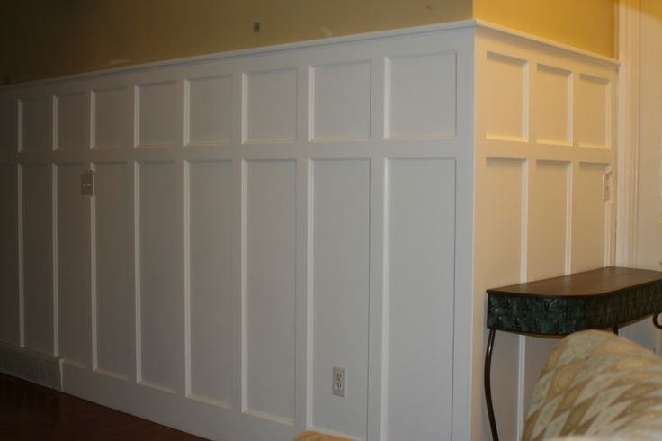 DIY Panel Installing Wainscoting Correctly