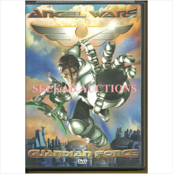 """Angel Wars Guardian Force Episode 1 """"About Face"""" Movie DVD region 1 used"""