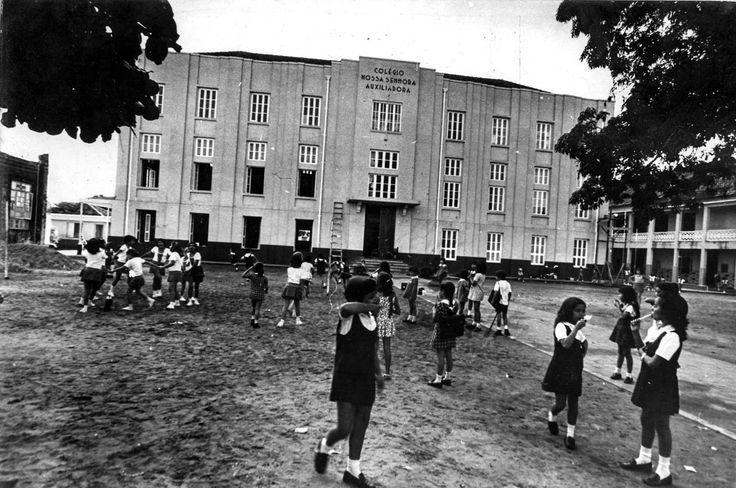 Colégio Nossa Senhora Auxiliadora. 1972. Manaus. Acervo: Moacir Andrade.