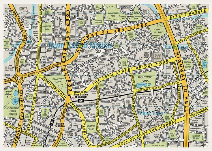 London's Music Map: Pennies Lane, Roads Maps, Macarthur Parks, Songs Roads, Songs Maps, Songs Title, Music Maps, Songs Hye-Kyo, Music Stuff