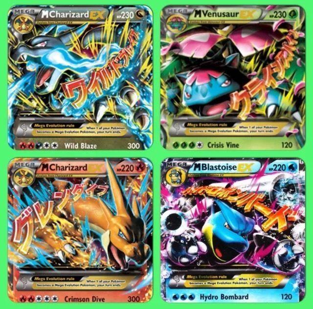 POKEMON CARDS: 10 CARD LOT! MEGA, PRIMAL, SECRET, FULL ART OR EX! ALL RARES!!!