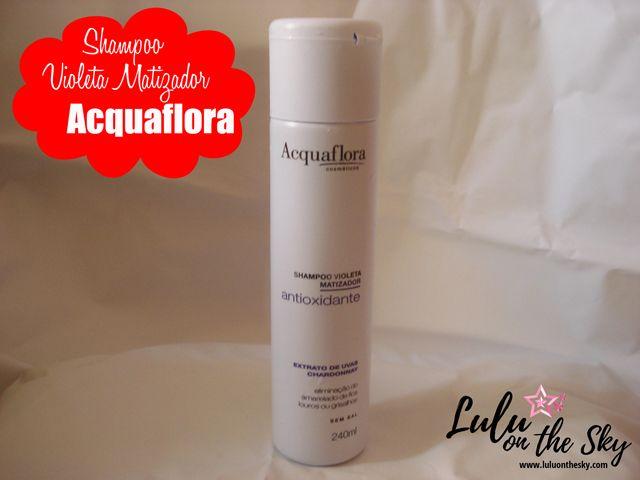 CABELOS: Shampoo Violeta Matizador Acquaflora