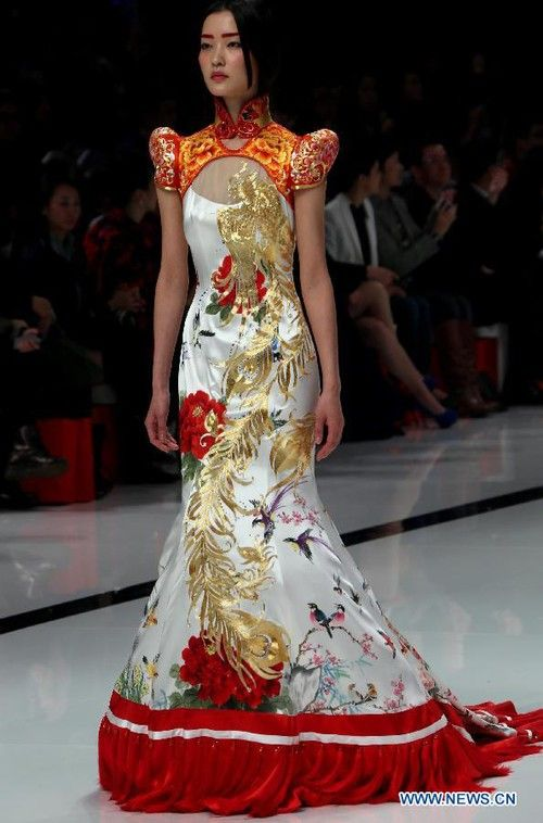 chinese fashion china-fashion-week EDHRGJG