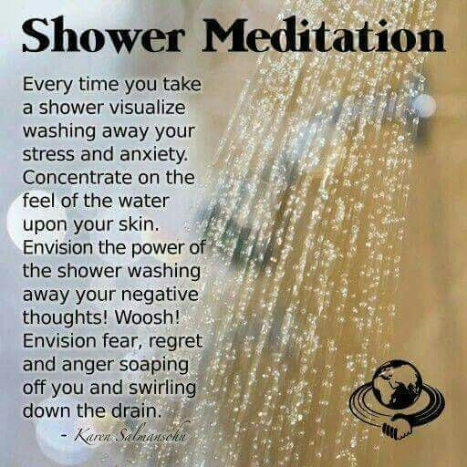 A meditation for the shower. Becoming more present and relaxed.  #meditation #zen #happy #mindful #meditate #shower