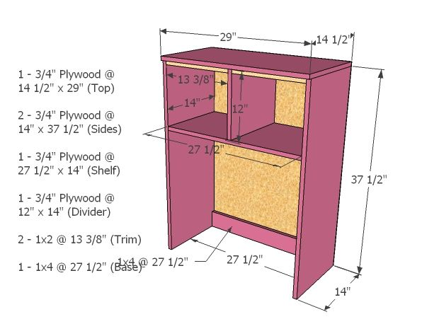 Best Desk Hutch Ideas On Pinterest Diy Pink Furniture White - Computer desk with hutch plans