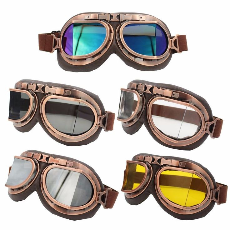 5 Colors Goggles Motorcycle Vintage Aviator Pilot Cruiser Steampunk ATV Bike Motocross UV Protection Goggle Eyewear Copper Multi SMS - F A S H I O N http://www.sms.hr/products/5-colors-goggles-motorcycle-vintage-aviator-pilot-cruiser-steampunk-atv-bike-motocross-uv-protection-goggle-eyewear-copper-multi/ US $9.32