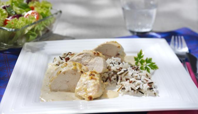 Für Genießer ist das leckere Zwiebel-Sahne-Hähnchen genau das Richtige. Probiere…