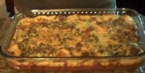 Sausage Breakfast Casserole With Egg and Bread - Perfect weekend breakfast. I made this Friday night, stuck it in the fridge and just baked it up Saturday morning. Delish