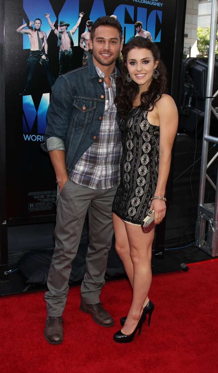 Ryan Guzman & Kathryn McCormick from Step Up Revolution!!