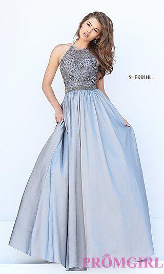 halter prom dresses