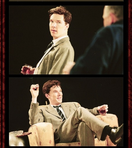 """Benedict Cumberbatch as Guy Burgess - """"The Turning Point"""" of Michael Dobbs"""
