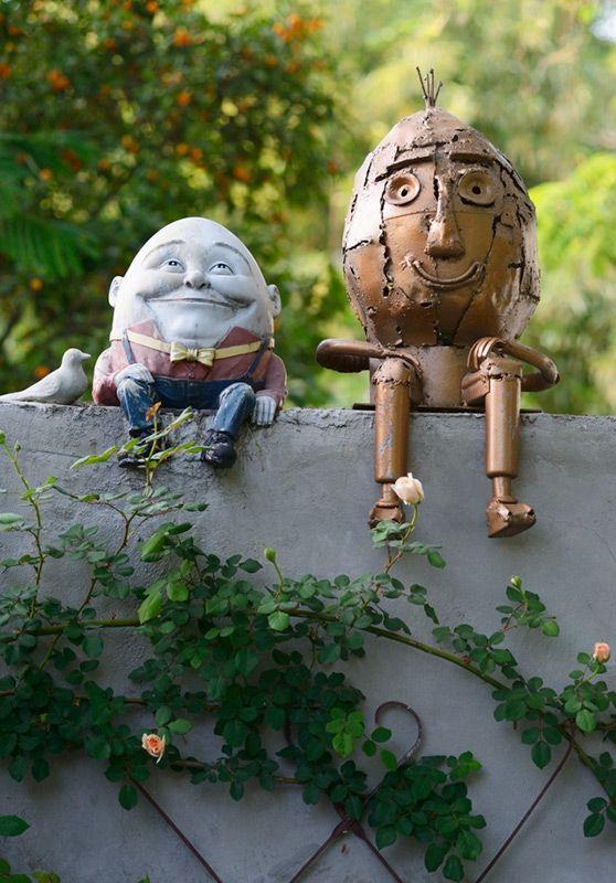 Humpty Dumpty Garden Art From Ucce Master Gardeners Of San Bernadino Pinterest And