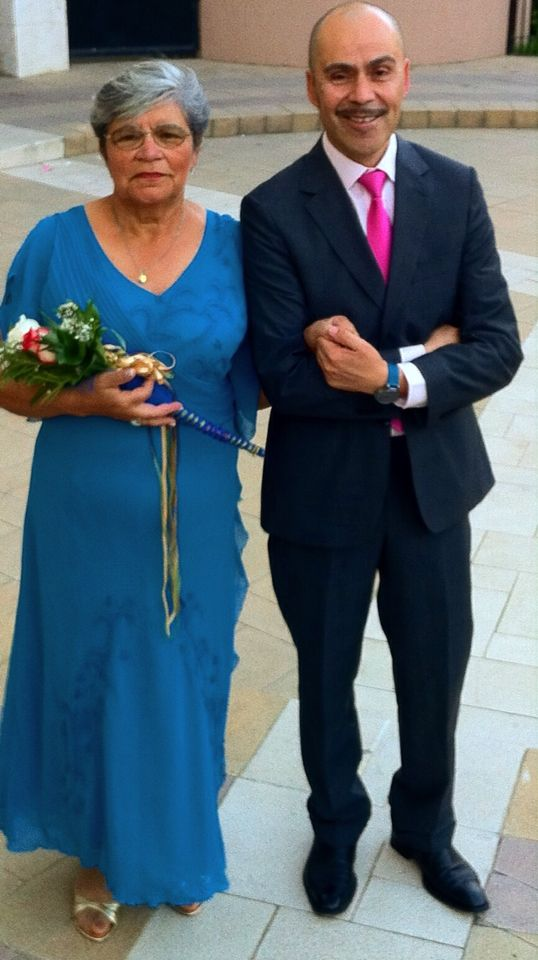 My mother and me , gold weding