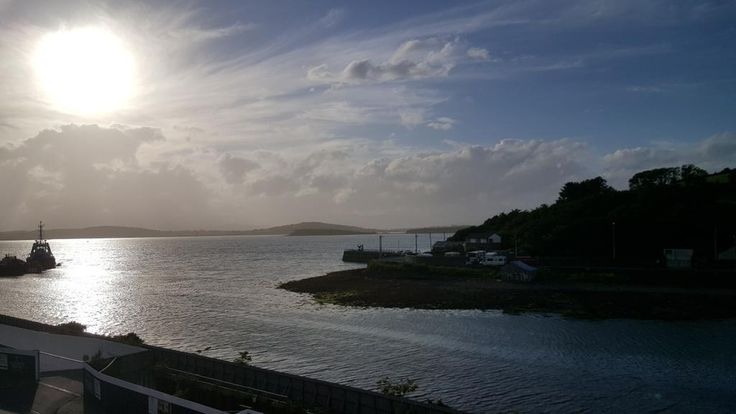 Barry Douglas said ... ‏@wbarrydouglas @Westcorkmusic @TourismWestCork great view yesterday evening from my  hotel in Bantry. Idyllic festival and place