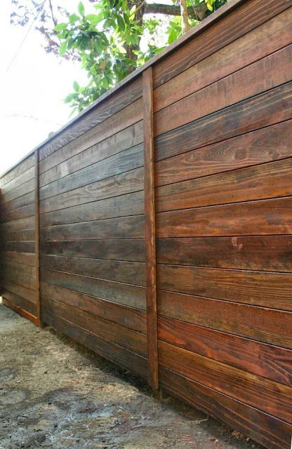 perfect wooden fence panels