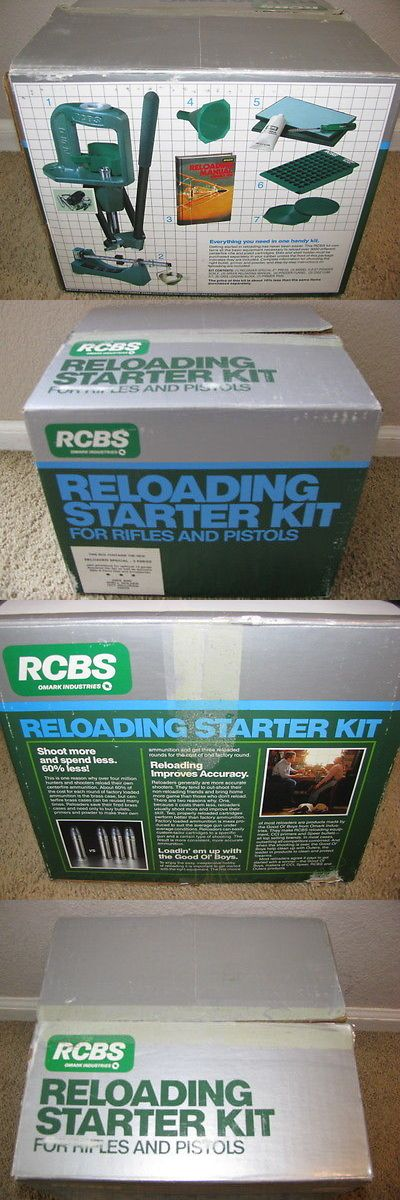 Presses and Accessories 71120: New Rcbs Reloading Starter Kit 09050 For Rifles And Pistols -> BUY IT NOW ONLY: $199.0 on eBay!